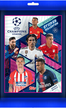 Topps Match Attax Liga de Campeones UCL 2019 completo de equipo conjuntos de 18 Tarjetas